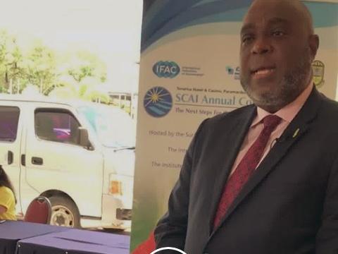 ICAC President Anthony Pierre